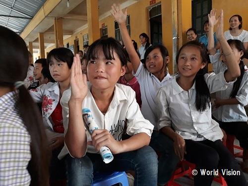 ベトナム 子どもたちの様子
