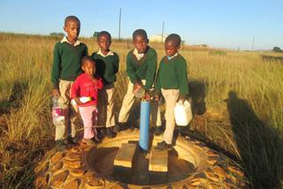 水道栓の水