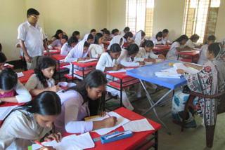 ビルゴンジADPで校舎や机・イスなどの設備支援を受けた女子高校です