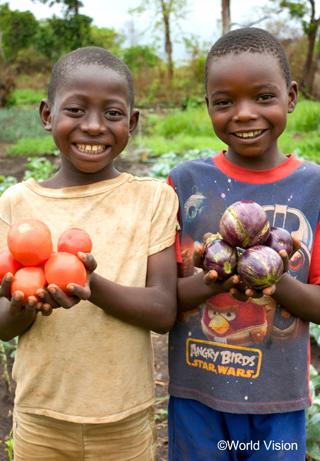 南スーダンの子どもたち