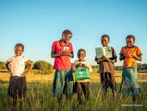 ザンビアの子どもたち