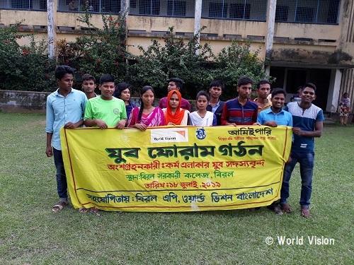 バングラデシュ 子どもたちの様子