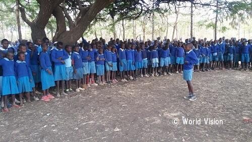ケニア 子どもたちの様子