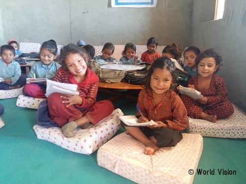 ネパール 子どもたちの様子