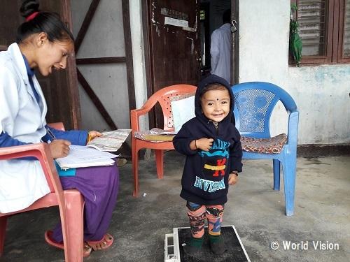 ネパール 地域の様子