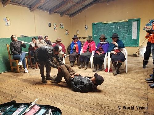 エクアドル 地域の様子