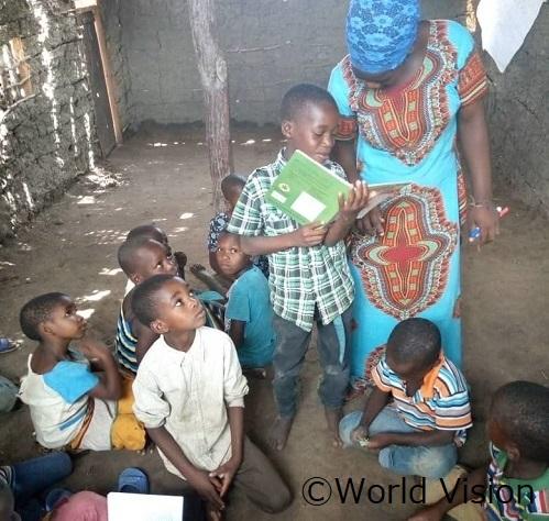 タンザニア 子どもたちの様子
