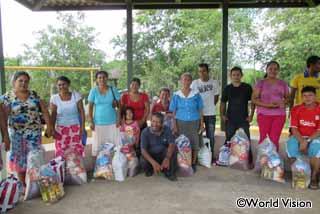 干ばつ被害の救援