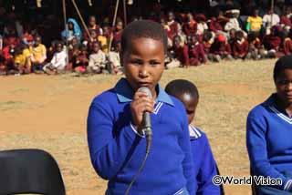 アフリカ子どもの日の集会