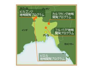 地図(バングラデシュ)