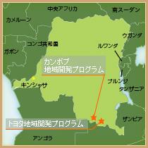 地図(コンゴ)