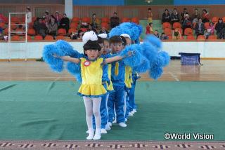 幼稚園児の競技会