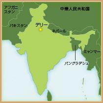地図(インド)