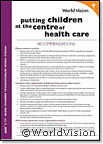 Putting children at the centre of healthcare