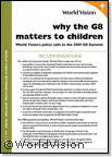 Why the G8 matters to children