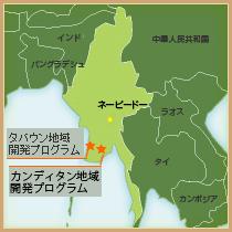地図(ミャンマー)
