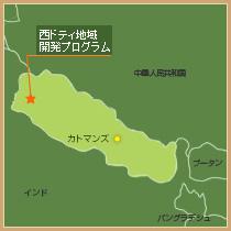 地図(ネパール)