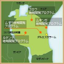 地図(タンザニア)