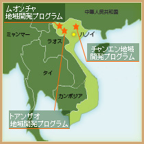 地図(ベトナム)