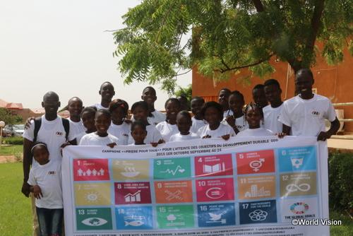 SDGs(持続可能な開発目標) を掲げるニジェールの子どもたち