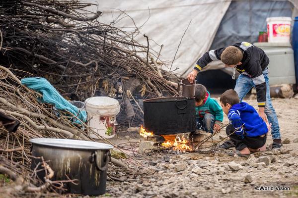 難民の子どもたち