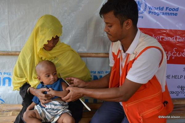 難民への治療支援