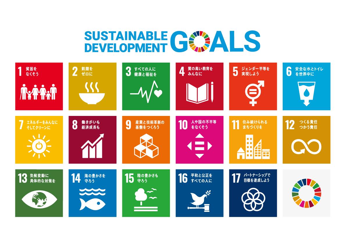 持続可能な開発目標SDGsの17の目標