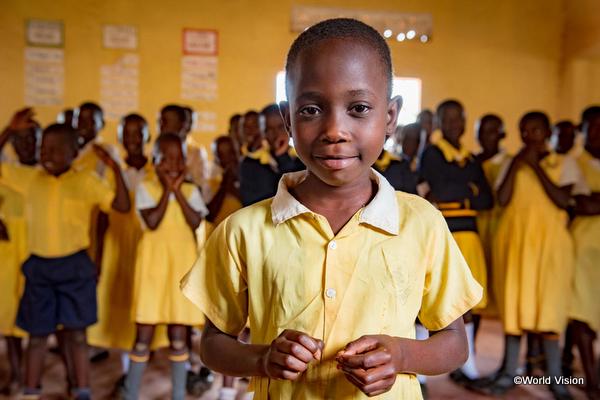 開発途上国の子どもの笑顔
