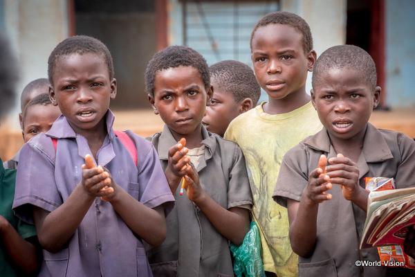 後発開発途上国の子どもたち