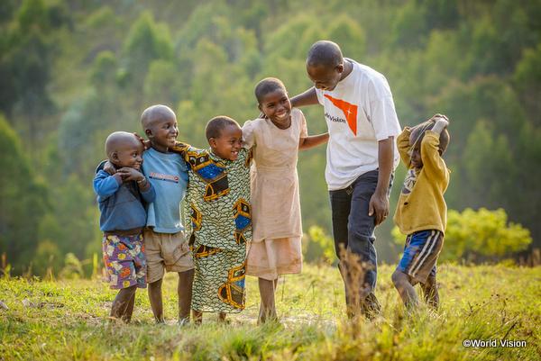 開発途上国の子どもたちの笑顔