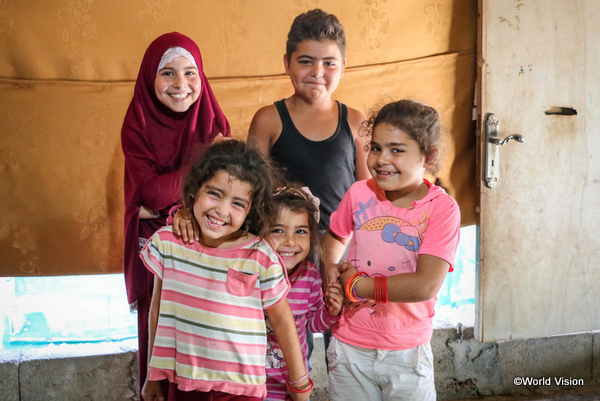 ワールド・ビジョンによる中東・北アフリカ難民支援