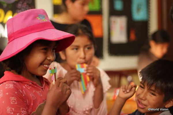 中南米の子どもたちの笑顔