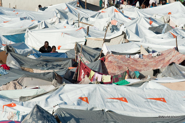 中南米ハイチ大震災の被災者