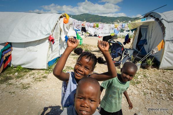 中南米の貧困地域の子どもたち