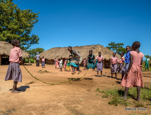 ウガンダの子どもたち