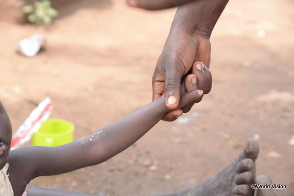 ウガンダの少女