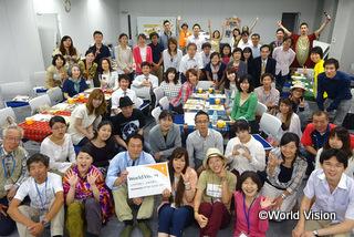 参加者の皆さまと集合写真を撮りました(東京)