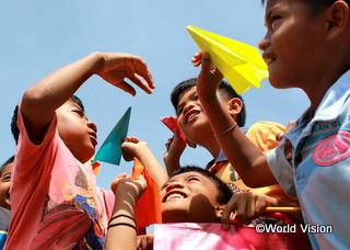 フィリピンの子どもたち