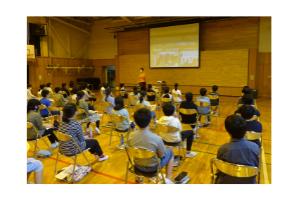 小学校での講師派遣