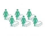100,000円でシリアのお母さん6人にベビーキット(毛布、マット、洋服、その他新生児に必要なもの)を支援できます。困難な環境での出産・子育ての必需品です。
