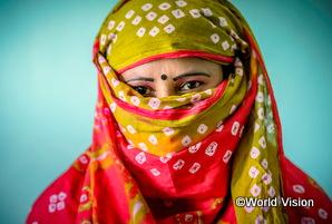 過去人身売買の被害を受けたバングラデシュの女性