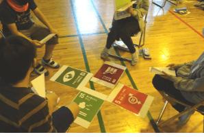 SDGsのグループワーク
