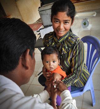児童保護カンボジア