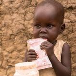 栄養不良の5歳未満の子ども70人に栄養補助食を10日間提供できます(南スーダン)
