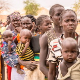 食糧危機に直面する100人の人々に、食糧を10日間提供できます(穀物・豆・塩・油等)(南スーダン)