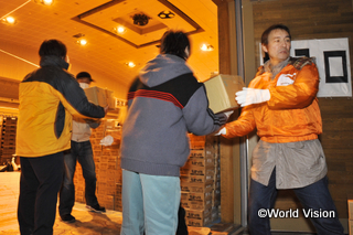 Operation for the East Japan Earthquake and tsunami
