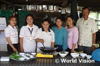 栄養不良改善のための調理実習