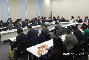 公開セミナー「子どもに対する暴力撤廃を目指して:世界におけるマルチステークホルダーによる取り組みと日本への期待」の模様