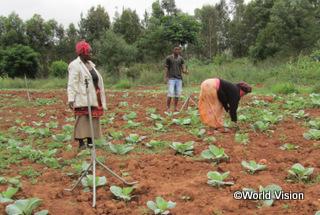 【ゲゲ地域】「灌がいが進み、収穫が増えました。作物を市場で売ったお金で、子どもたちの授業料を払えるようになりました。」 ノンフランフラさん(地域に住む母親)