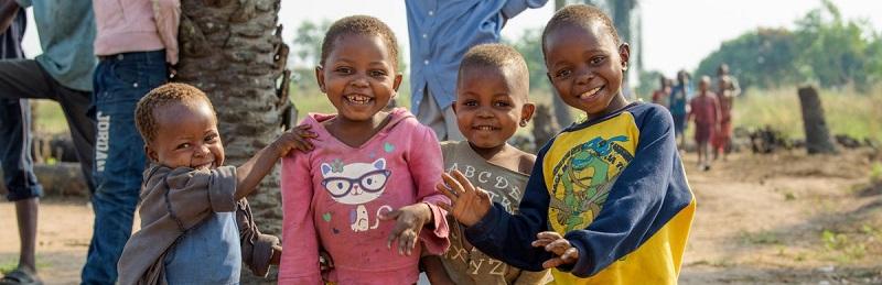 ウガンダの支援地域の子どもたち
